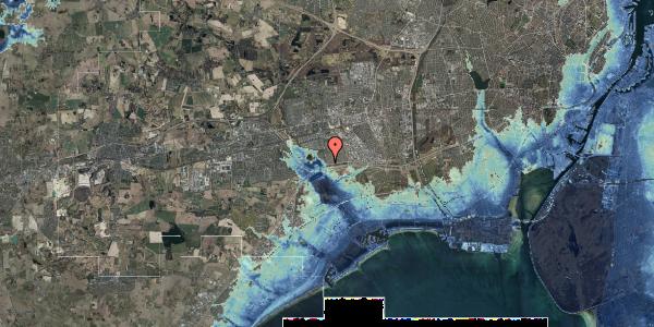 Stomflod og havvand på Rendsagervej 26, 2625 Vallensbæk