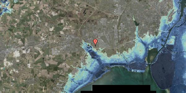 Stomflod og havvand på Rendsagervej 34, 2625 Vallensbæk