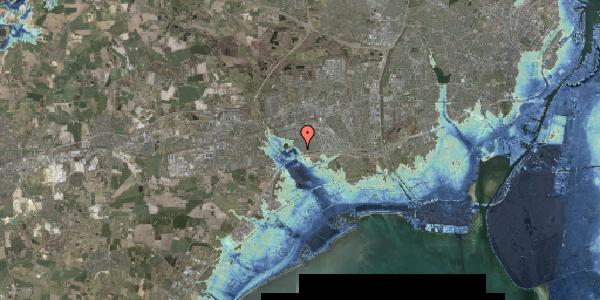 Stomflod og havvand på Rendsagervej 46, 2625 Vallensbæk