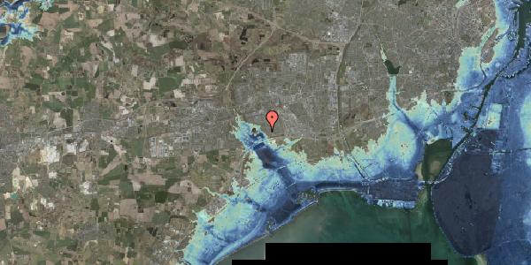Stomflod og havvand på Rendsagervej 70, 2625 Vallensbæk