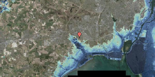 Stomflod og havvand på Rendsagervej 72, 2625 Vallensbæk
