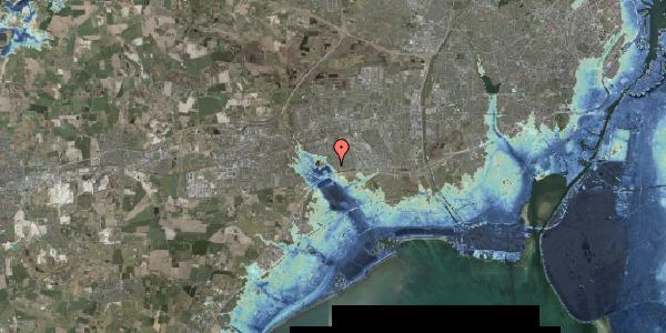 Stomflod og havvand på Rendsagervej 74, 2625 Vallensbæk