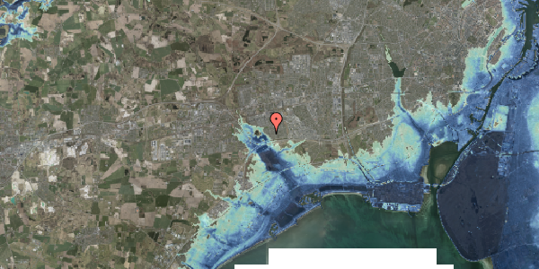 Stomflod og havvand på Rendsagervej 78, 2625 Vallensbæk