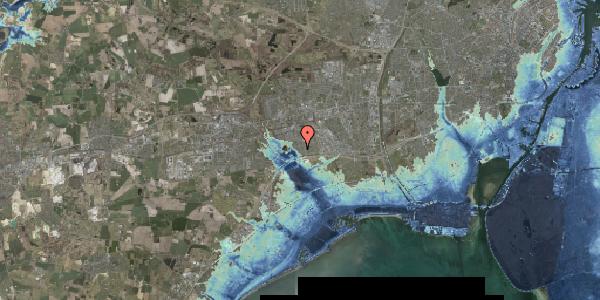 Stomflod og havvand på Rendsagervej 84, 2625 Vallensbæk