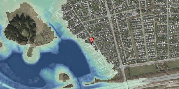 Stomflod og havvand på Rendsagervej 93, 2625 Vallensbæk