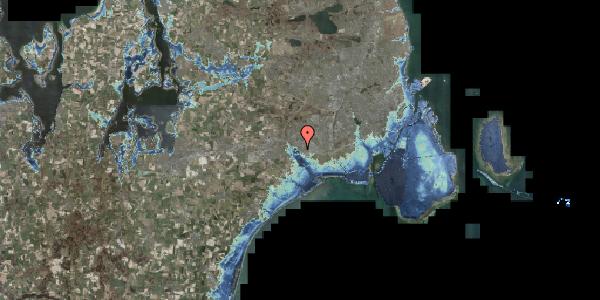 Stomflod og havvand på Rendsagervej 98, 2625 Vallensbæk