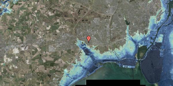 Stomflod og havvand på Rendsagervej 112, 2625 Vallensbæk