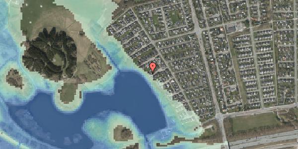 Stomflod og havvand på Rendsagervej 113, 2625 Vallensbæk