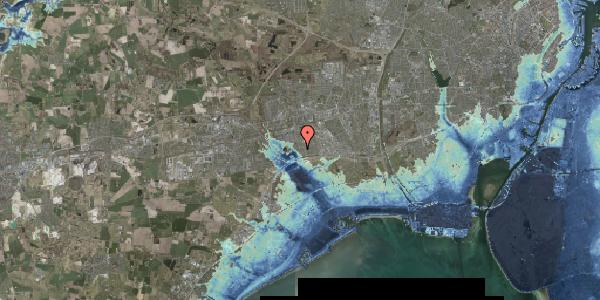 Stomflod og havvand på Rendsagervej 114, 2625 Vallensbæk