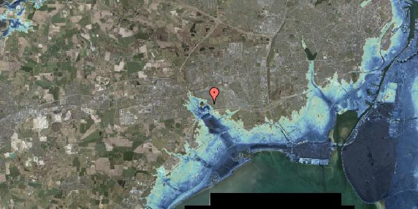 Stomflod og havvand på Rendsagervej 121, 2625 Vallensbæk