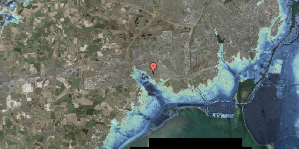 Stomflod og havvand på Rendsagervej 122, 2625 Vallensbæk
