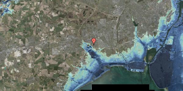 Stomflod og havvand på Rendsagervej 130, 2625 Vallensbæk