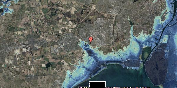 Stomflod og havvand på Rendsagervej 133, 2625 Vallensbæk