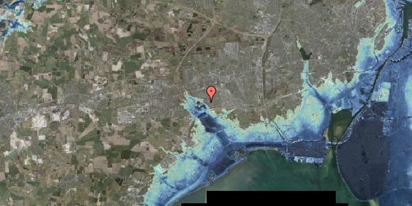 Stomflod og havvand på Rendsagervej 134, 2625 Vallensbæk