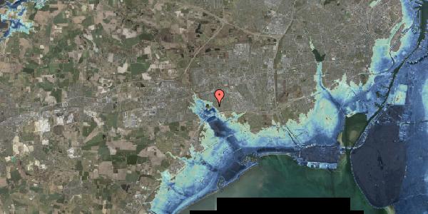 Stomflod og havvand på Rendsagervej 137, 2625 Vallensbæk