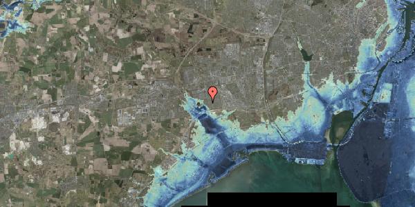 Stomflod og havvand på Rendsagervej 140, 2625 Vallensbæk