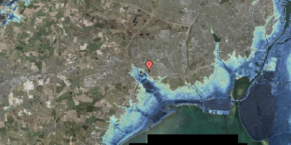 Stomflod og havvand på Rendsagervej 151, 2625 Vallensbæk