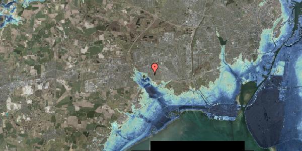 Stomflod og havvand på Rendsagervej 152, 2625 Vallensbæk