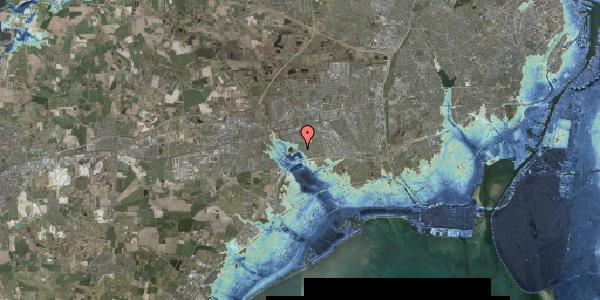 Stomflod og havvand på Rendsagervej 153, 2625 Vallensbæk
