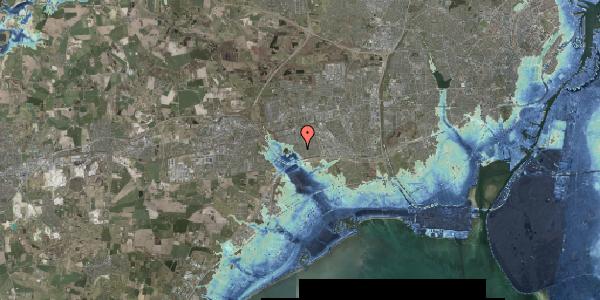 Stomflod og havvand på Rendsagervej 154, 2625 Vallensbæk