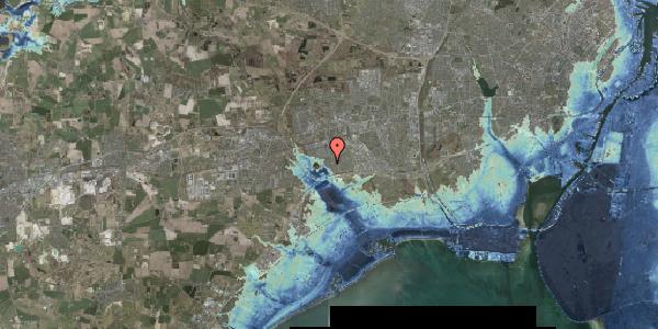 Stomflod og havvand på Rendsagervej 164, 2625 Vallensbæk