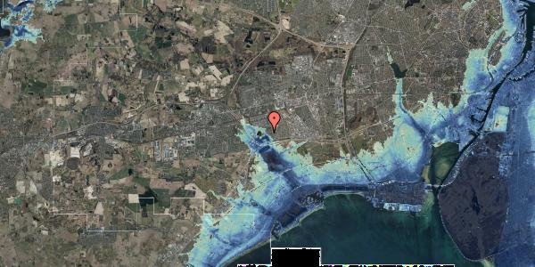 Stomflod og havvand på Rendsagervej 169, 2625 Vallensbæk