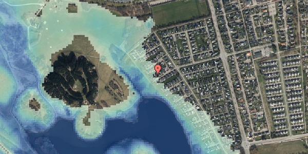 Stomflod og havvand på Rendsagervej 181, 2625 Vallensbæk