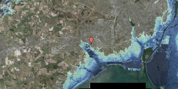 Stomflod og havvand på Rendsagervej 187, 2625 Vallensbæk