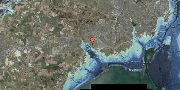 Stomflod og havvand på Rendsagervej 193, 2625 Vallensbæk