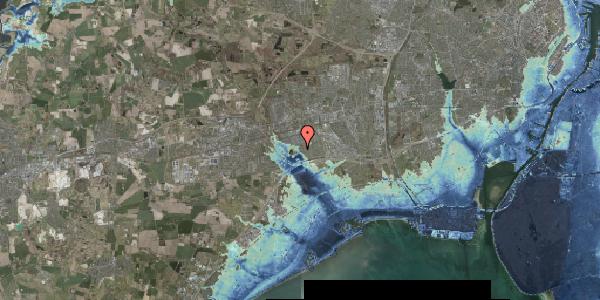 Stomflod og havvand på Rendsagervej 201, 2625 Vallensbæk