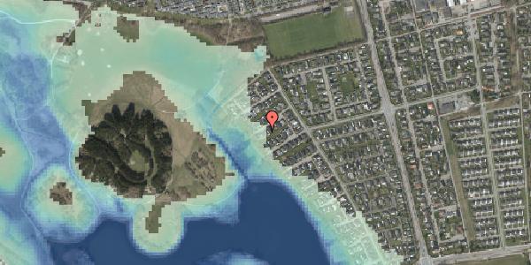 Stomflod og havvand på Rendsagervej 211, 2625 Vallensbæk