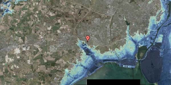 Stomflod og havvand på Rendsagervej 229, 2625 Vallensbæk
