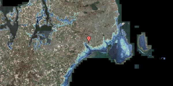 Stomflod og havvand på Rendsagervej 231, 2625 Vallensbæk