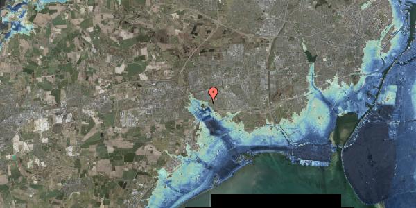 Stomflod og havvand på Rendsagervej 241, 2625 Vallensbæk