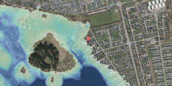 Stomflod og havvand på Rendsagervej 245, 2625 Vallensbæk
