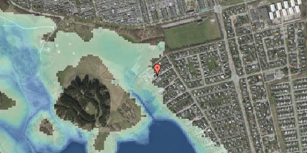 Stomflod og havvand på Rendsagervej 263, 2625 Vallensbæk