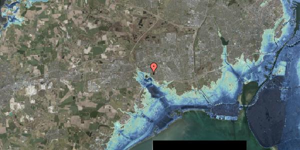 Stomflod og havvand på Rendsagervej 267, 2625 Vallensbæk