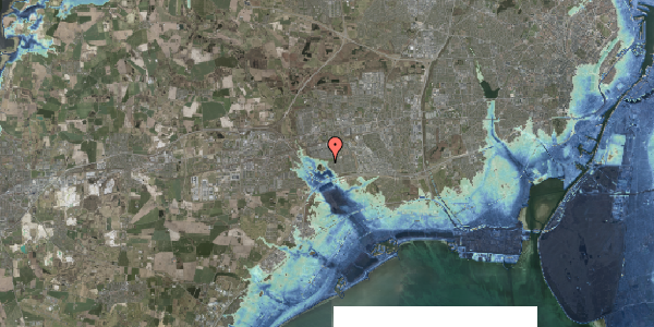 Stomflod og havvand på Rendsagervej 269, 2625 Vallensbæk