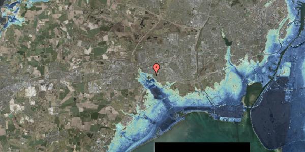Stomflod og havvand på Rendsagervej 275, 2625 Vallensbæk