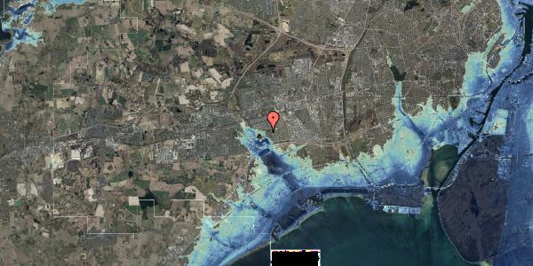 Stomflod og havvand på Rendsagervej 279, 2625 Vallensbæk