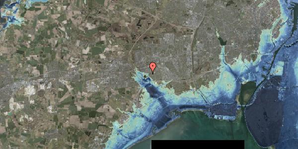 Stomflod og havvand på Rendsagervej 281, 2625 Vallensbæk