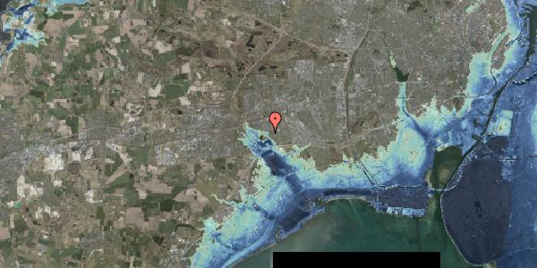 Stomflod og havvand på Rendsagervej 283, 2625 Vallensbæk