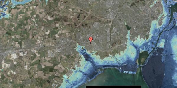 Stomflod og havvand på Rosenlunden 51, 2625 Vallensbæk