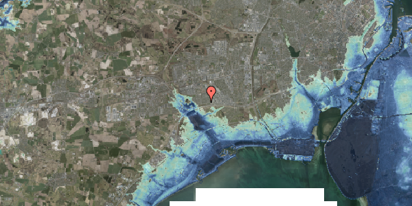 Stomflod og havvand på Syvhøjvænge 15, 2625 Vallensbæk
