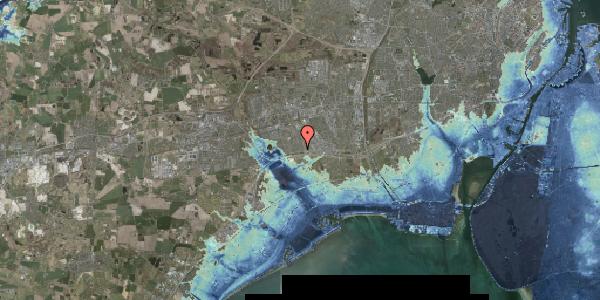 Stomflod og havvand på Syvhøjvænge 27, 2625 Vallensbæk