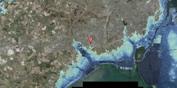 Stomflod og havvand på Syvhøjvænge 70, 2625 Vallensbæk