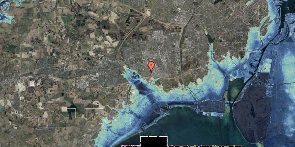 Stomflod og havvand på Syvhøjvænge 71, 2625 Vallensbæk