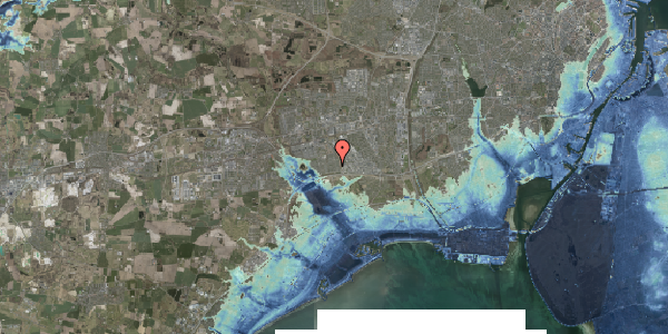 Stomflod og havvand på Syvhøjvænge 75, 2625 Vallensbæk