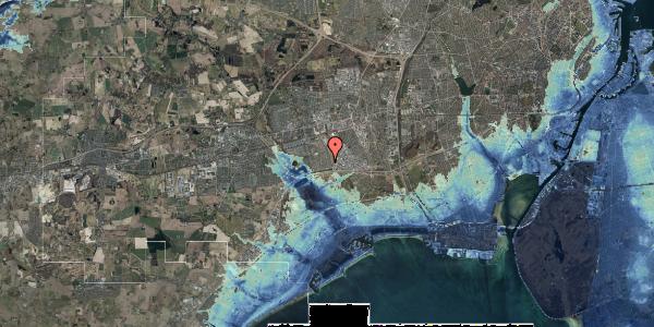 Stomflod og havvand på Syvhøjvænge 81, 2625 Vallensbæk
