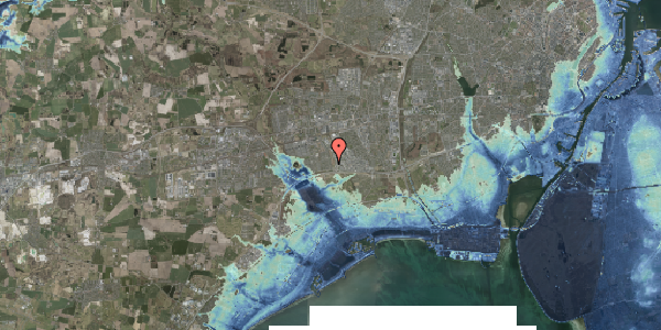 Stomflod og havvand på Syvhøjvænge 84, 2625 Vallensbæk